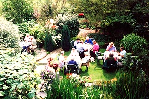 A glorious setting for the 2002 barbecue