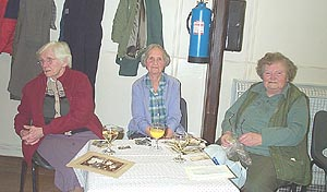 from left to right, Maud Peart, Vera