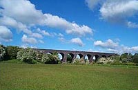 The Great Central Railway viaduct