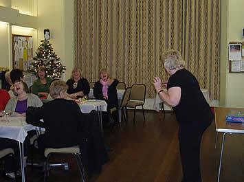 Sue Lidgely organised charades